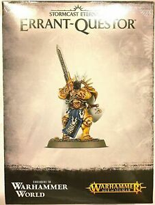 OOP Event Only Warhammer World Age of Sigmar AoS Stormcast Knight Errant Questor