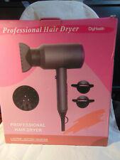 Hair Dryer, Professional Salon 1800W Negative Ionic Blow Dryer Fast Drying 9808