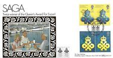 GB 1990 QUEEN'S AWARD FOR EXPORTS BENHAM OFFICIAL FDC