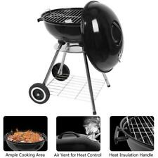 """Outdoor Bbq Grill Charcoal Barbecue Pit Patio Backyard Meat Cooker Smoker 18"""" Us"""