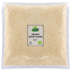 Organic Millet Flakes 5kg - Gluten Free - Certified Organic