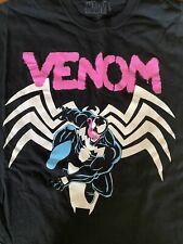 Venom Pink Graffiti Marvel Comics Shirt XL Extra Large Spiderman