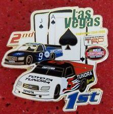 PIN'S COURSE USA NASCAR TRD TOYOTA TRUCK SERIES CRAFTSMAN LAS VEGAS EGF MFS