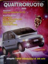 Quattroruote 518 1998 La Multipla 1.9 JTD. Seat Toledo. Prove BMW M Coupé [Q90]