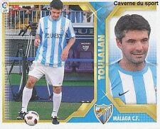 N°04 Ultimos Fichajes TOULALAN # FRANCE MALAGA.CF STICKER CROMO PANINI LIGA 2012