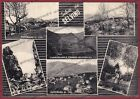 BERGAMO SELVINO 27 NEMBRO - SALUTI da... VEDUTINE Cartolina viaggiata 1963