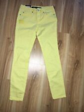 NWT Jay Jays 3/4 ankle biter yellow jeans M Size 6