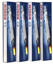 4 BOSCH RISCALDATORE GLOW PLUGS 0250204002 CITROEN C4 1.6 HDI 110bhp 16V 2006 > 2011