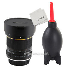 AU Super Wide 8mm f/3.5 Fisheye Lens for Canon 5D III II IV 70D 6D 60D 700D 600D