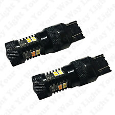 Bright Switchback Front DRL Parking Signal LED + Resistors for 2013-2016 FRS