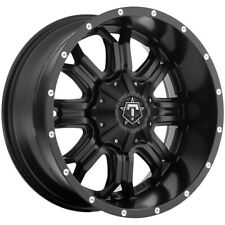 "4-TIS 535B 17x9 6x135/6x5.5"" -12mm Black/Milled Wheels Rims 17"" Inch"