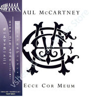 PAUL MCCARTNEY ECCE COR MEUM CD MINI LP OBI Quarrymen Beatles Wings new sealed