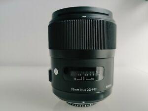 Sigma 35mm F1.4 DG HSM (Nikon F)