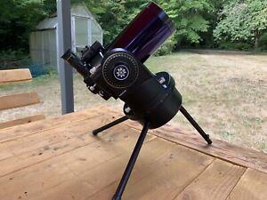 Meade 90mm ETX-90 RA Reflector Telescope Camera Adaptor RARE Purple Tube