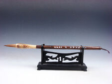 Top Quality Chinese Traditional Writing Pen/Brush w/ Wooden Handle #04171810