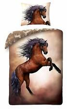 Pferde Wende-Bettwäsche-Set Bettbezug 140x200 Kinderbettwäsche Bettwaren Horse