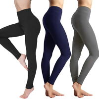 LP Damen Seamless Schlank Tone Yoga Leggings Mieder Taillenformer Bauchweg Hosen