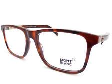 Mont Blanc Unisex + 0.25 A+ 3.50 Lettura Occhiali 55mm Marrone Tartaruga MB0737