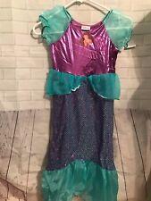 NWT DISNEY The Little Mermaid Ariel Deluxe Costume SZ 8/10
