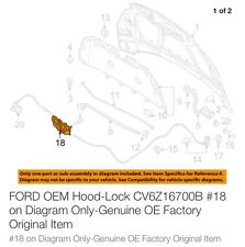 FORD OEM Hood Latch Lock CV6Z16700B