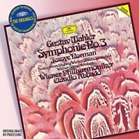 CLAUDIO/WP ABBADO - THE ORIGINALS-MAHLER: SINFONIE 3 2 CD NEW+ MAHLER,GUSTAV
