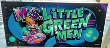 MS Little Green Men Slot Machine Glass Topper