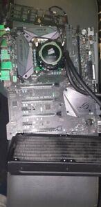 ASUS MaximusIX APEX ATX-i7 7700k-Corsair Hydro H105-Corsair 16gb RGB 3000mhz RAM