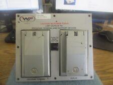 WP / Weco Products Model: CRB-SLC500 Program Terminal / Duplex Plate <