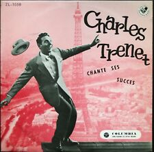 CHARLES TRENET CHANTE SES SUCCES ULTRA RARE 25CM MADE IN JAPAN COLUMBIA ZL 1058