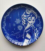 Disney Frozen Queen Elsa Ceramic Dish made in Japan Width 20.0 cm Boxed