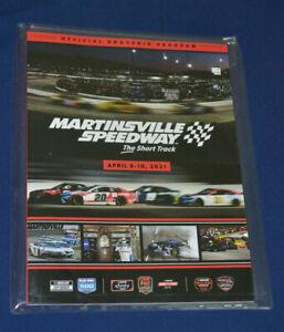 2021 Blue-Emu 500 Program Martinsville NASCAR