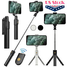 Selfie Stick Tripod Remote Desktop Stand Cell Phone Holder For iPhone Samsung US