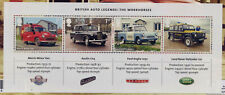 GB 2013 BRITISH AUTO LEGENDS MINIATURE SHEET MNH