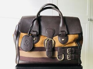 Gucci Heritage Boston Pony Hair and Leather Large
