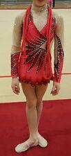 Rhythmic gymnastics/ ice skating competition leotard costume