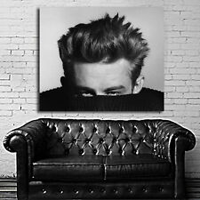 Poster Wall Mural James Dean Actor Icon 35x42 inch (90x108 cm) on Canvas