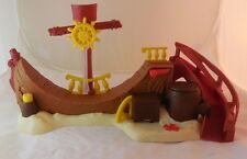 Jake and the Never Land Pirates Skate Park Pirate Ship Mattel