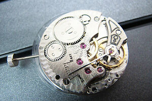 17 Jewels 6498 Hand Winding ST3621 Mechanical Movement for Wristwatch