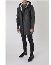 Stutterheim Unisex Black Stockholm Style Raincoat LARGE