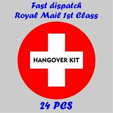 Stickers HANGOVER SURVIVAL KIT Bride ToBe Hen Party Night Drunk Stag Wedding H11