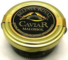50g Beluga Royal Kaviar Malossol, Persisch + 1 Perlmutt-Löffel