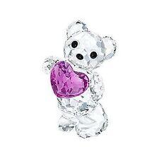 Swarovski  Bear Kris Birthstone February    New
