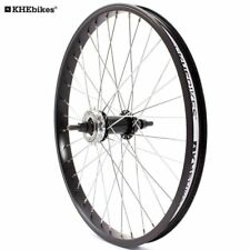 KHE BMX Hinterrad Alu Felge 36 Loch 10mm KHE Band+Ritzel Made in Germany B-WARE