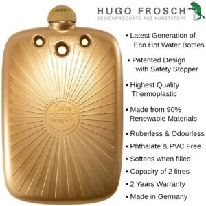 Hugo Frosch ECO GOLD Hot Water Bottle 2L