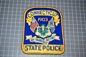 Connecticut State Police Patch (S01-2)