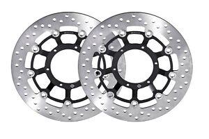 Honda CB1000R  Front Brake Disc Rotor Set