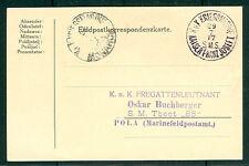 1917, Hungary Naval card, ship 'KAISER FRANZ JOSEF I'