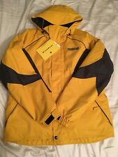 NEW 90s Vintage DESCENTE D310 SNOWBOARD Yellow Jacket Snow Ski Winter Outdoors