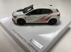 Miniature Renault Megane RS Trophy R 1/43 Jantes Noir Norev