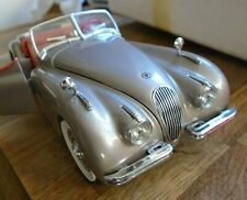 THE JAGUAR XK120 ,THE DANBURY MINT 1/24 SCALE MODEL